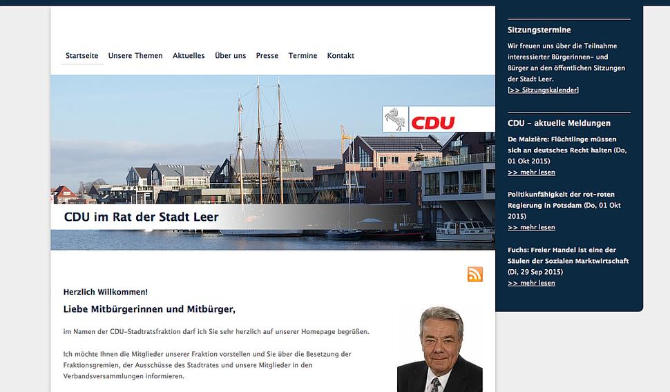 hansaconcept | Webdesign aus Lübeck für Ihren CDU-Wahlkampf, CDU-Ortsverband, CDU-Gemeindeverband, CDU-Kreisverband, CDU-Abgeordneten oder CDU-Kandidaten