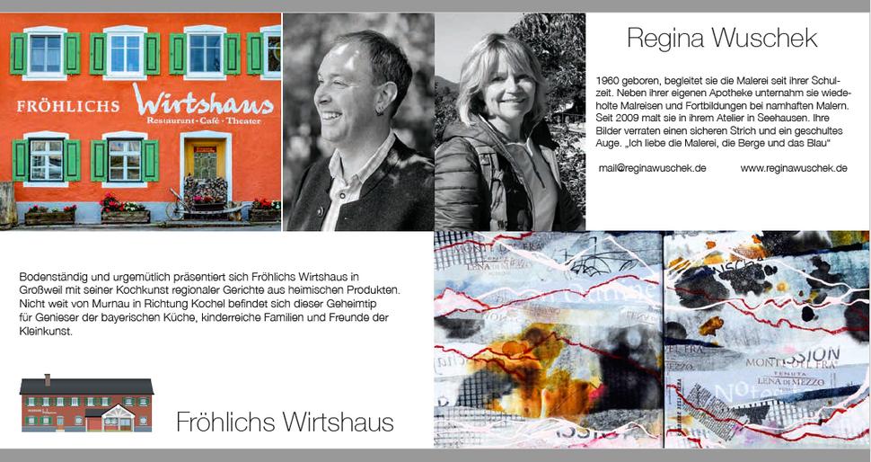 Kunstwirte, Regina Wuschek in Fröhlichs Wirtschaft