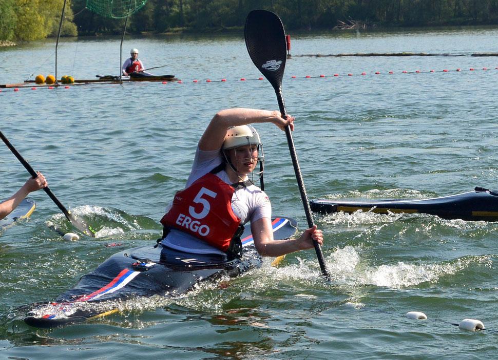 Petra Brey - Kanupolo Sportlerin des Jahres (Foto: Uschi Zimmermann, BKV)