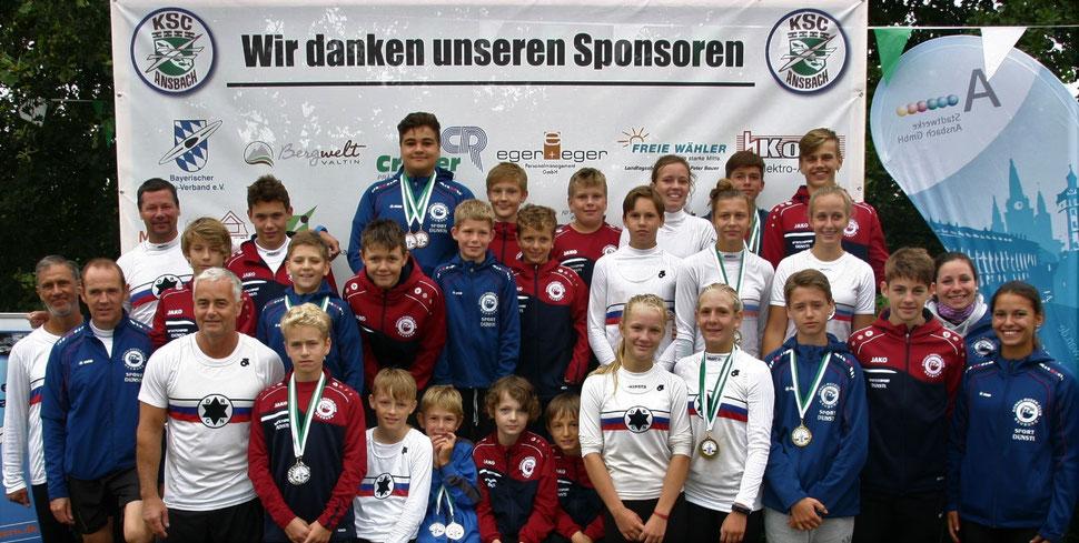 Die erfolgreiche Mannschaft (Foto: Monika Sandner)