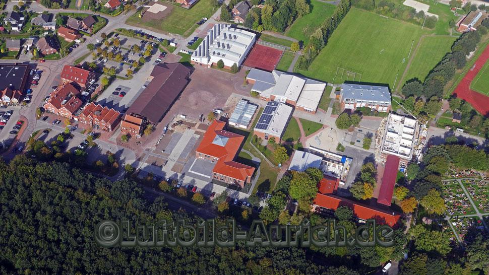 Der Rathausneubau in Ihlow ist fertig gestellt.