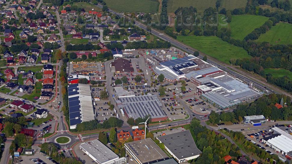 Im Gewerbegebiet in Extum am Dreekamp sollen einige Geschäfte erweitert werden.