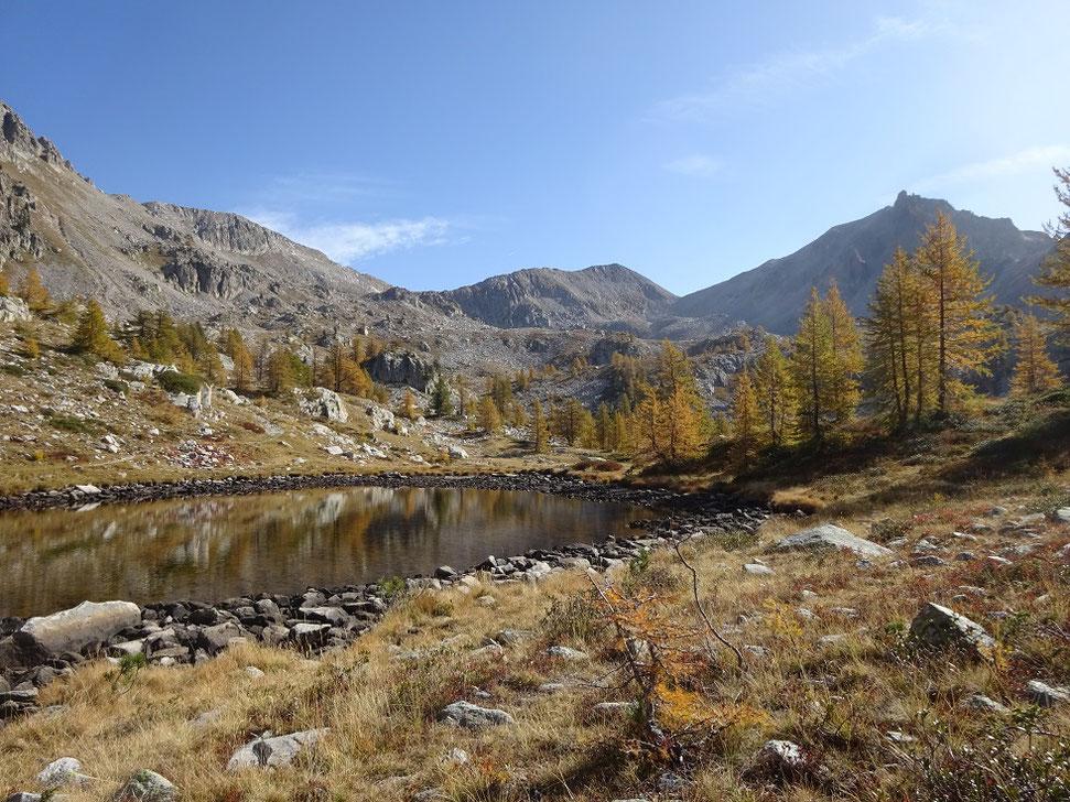 Le premier lac après le camp Soubran