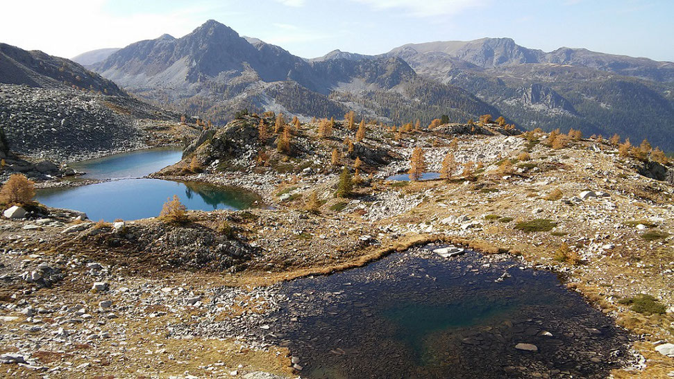 Quelques-uns des lacs de Frémamorte