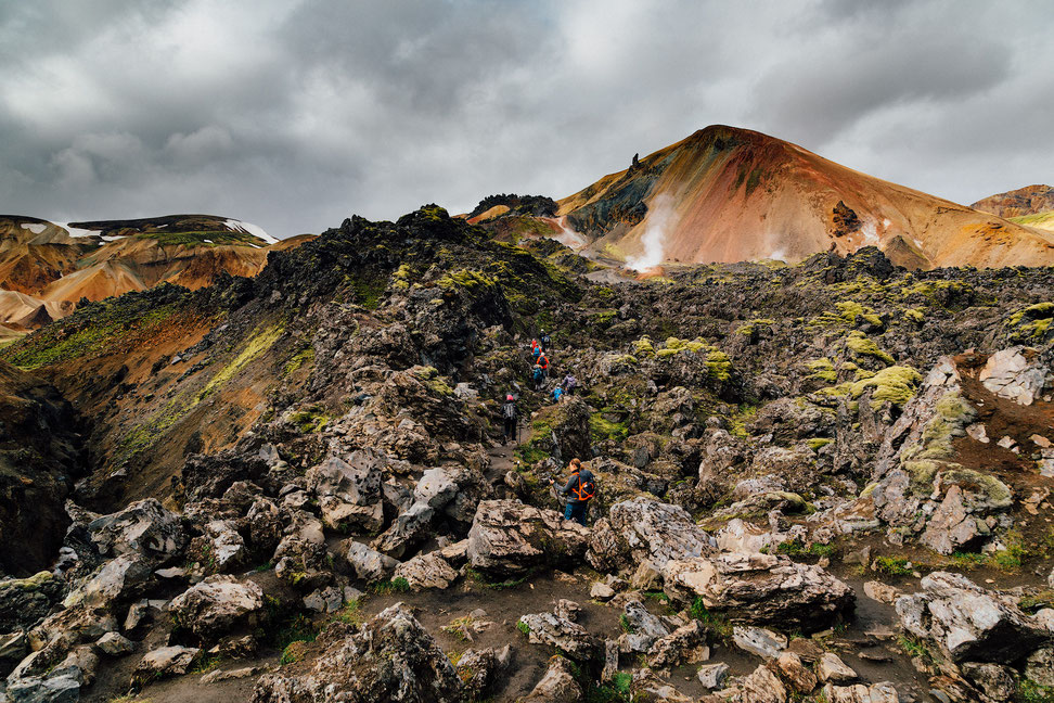 Laugahraun lava field - Guide to Landmannalaugar by @ InAFaraway_Land