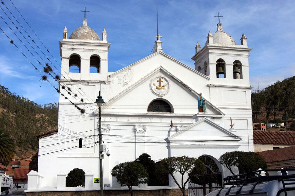 Sucre, Boliviens Hauptstadt mit BOLIVIENline entdecken