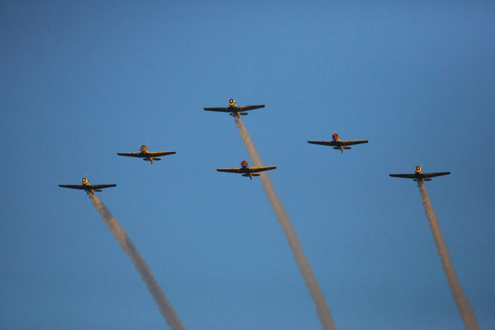 Various Formation Flights
