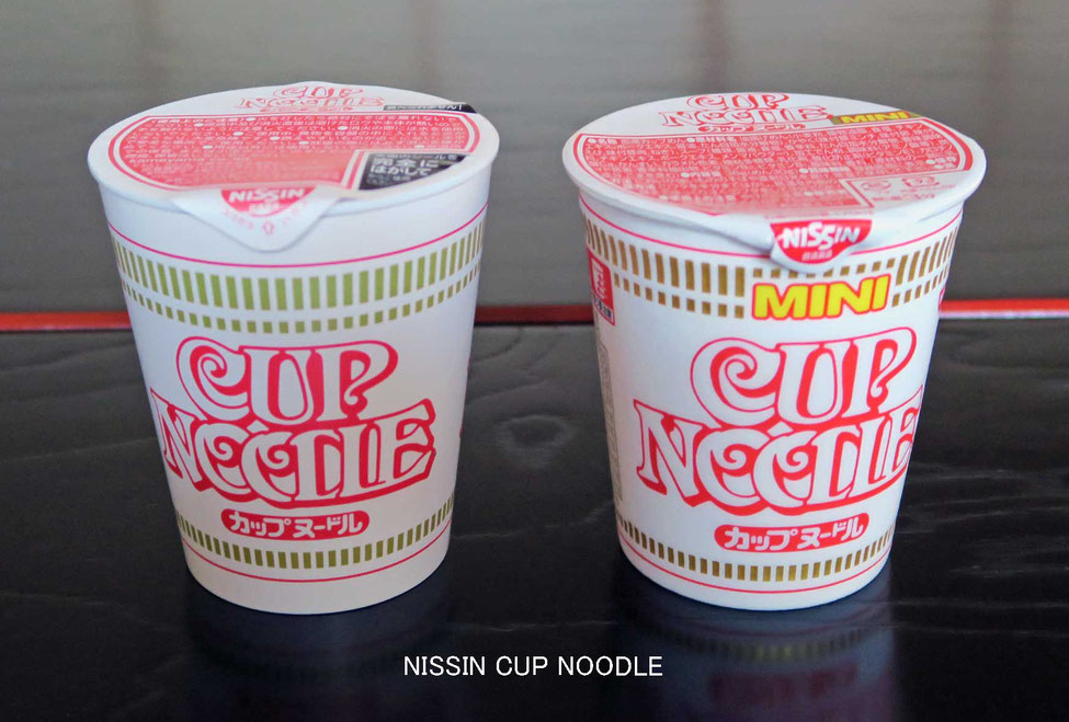NISSIN CUP NOODLEとローソク