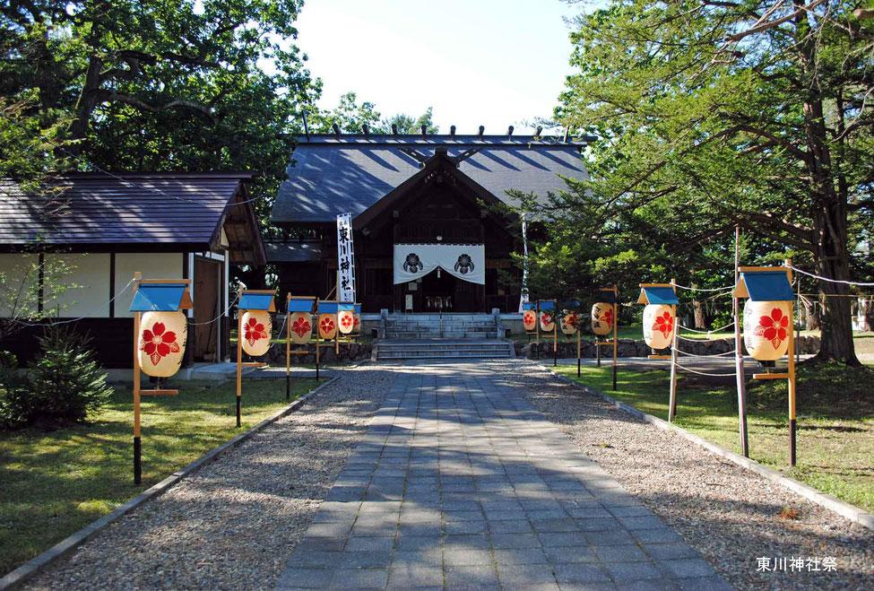 東川神社祭-2
