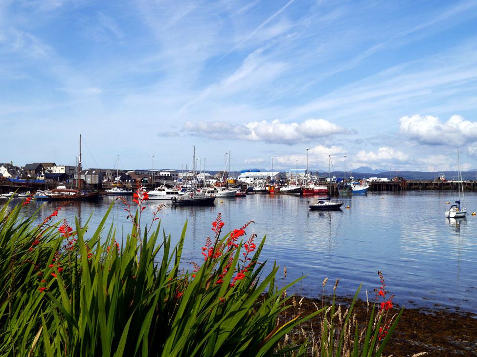 Fischerort Mallaig mit Fähren zur Isle of Skye