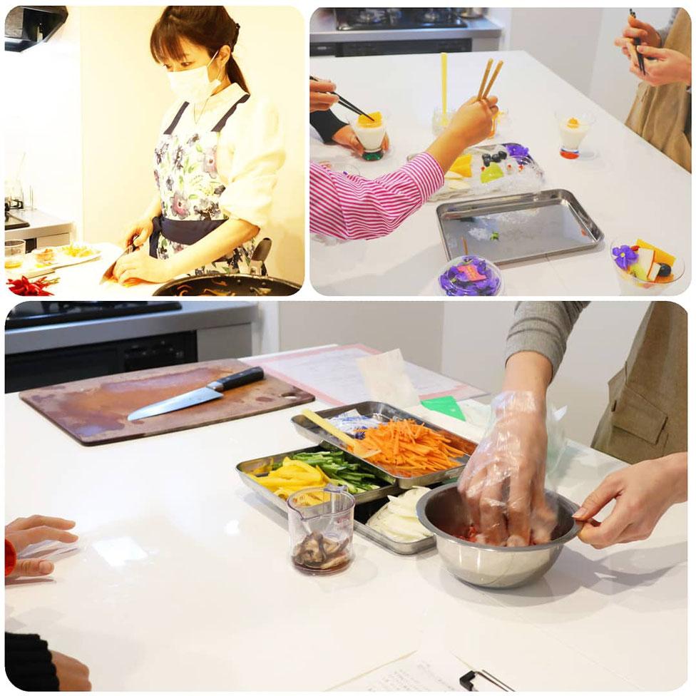 東京都 新宿区にある 料理教室 料理教室 エムズレッスン