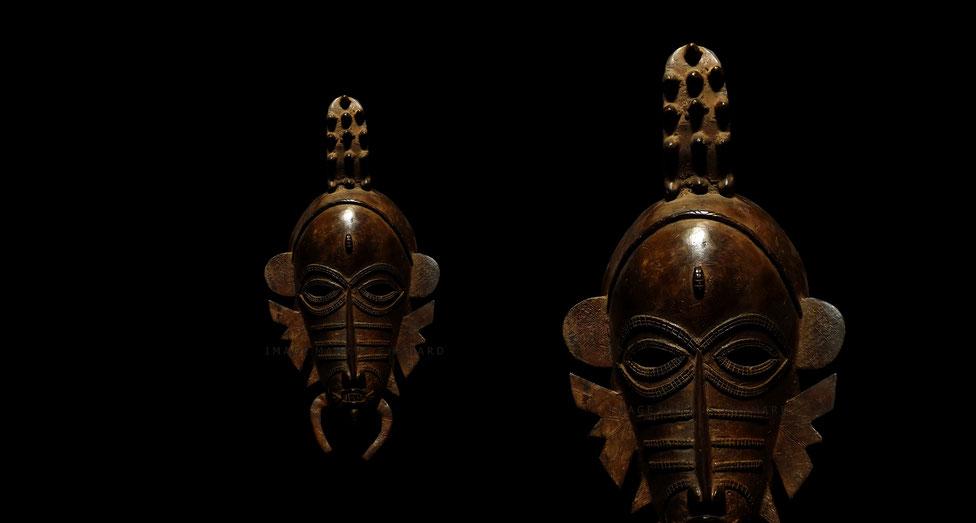 Senufo art Kpelié mask fake Senoufo style