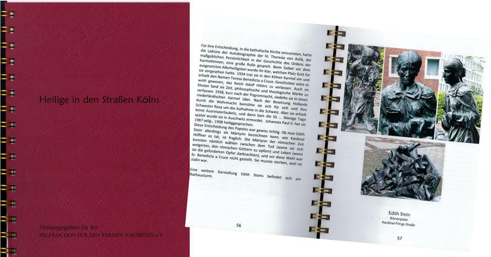 Heilige in den Straßen Kölns, R. Salditt, G. Tröger, T. Wenge,  1. Auflage 2016, 15 €