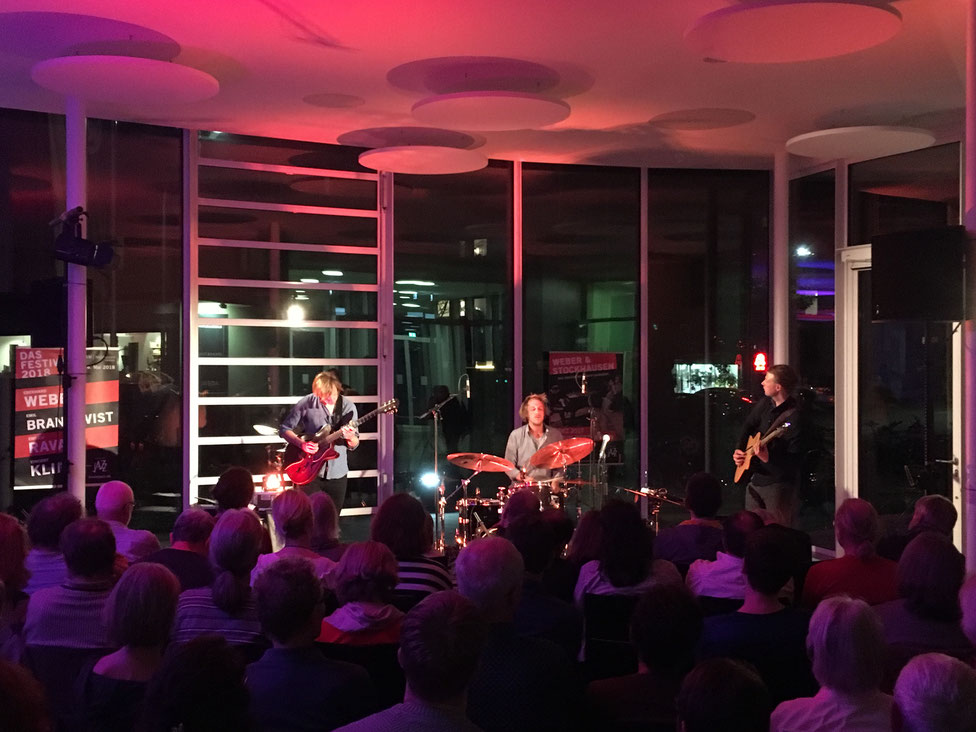 MELT TRIO - 13. Oktober 2017 • Foyer Jazz-Club im FORUM Merzhausen