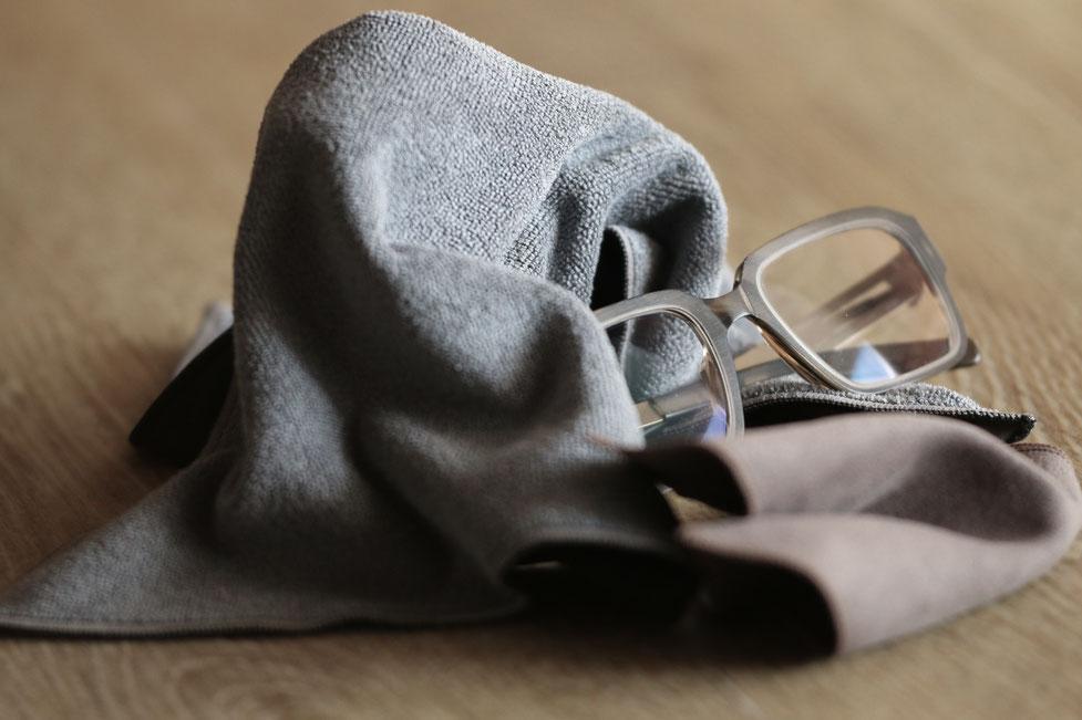 Richtige Brillenpflege: Tips von Optiker Zacher Erfurt, #Brillenpflege #Brillenreinigung #Brillenputztuch