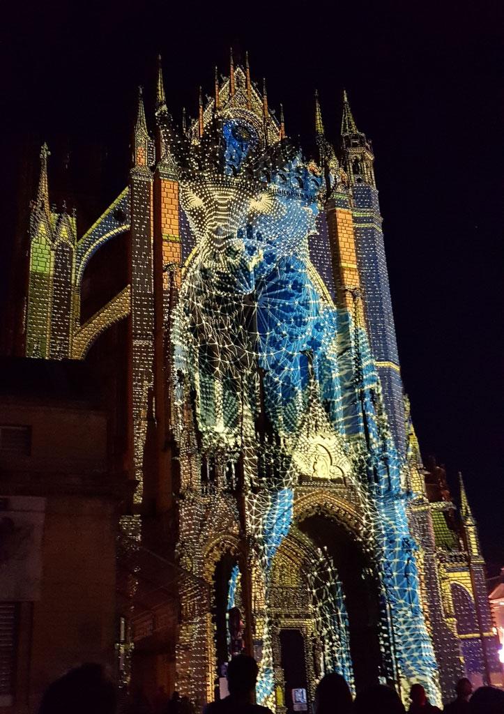 Festival des arts numériques - Cathédrale de Metz