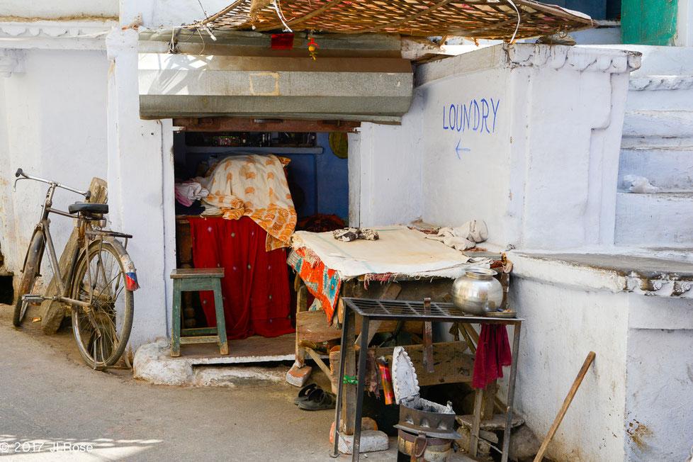 Blanchisserie (Udaipur - Inde))
