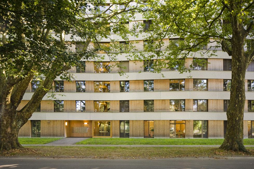 Überbauung Zellweger Park Uster, Gigon Guyer Architekten Architekturfotografie
