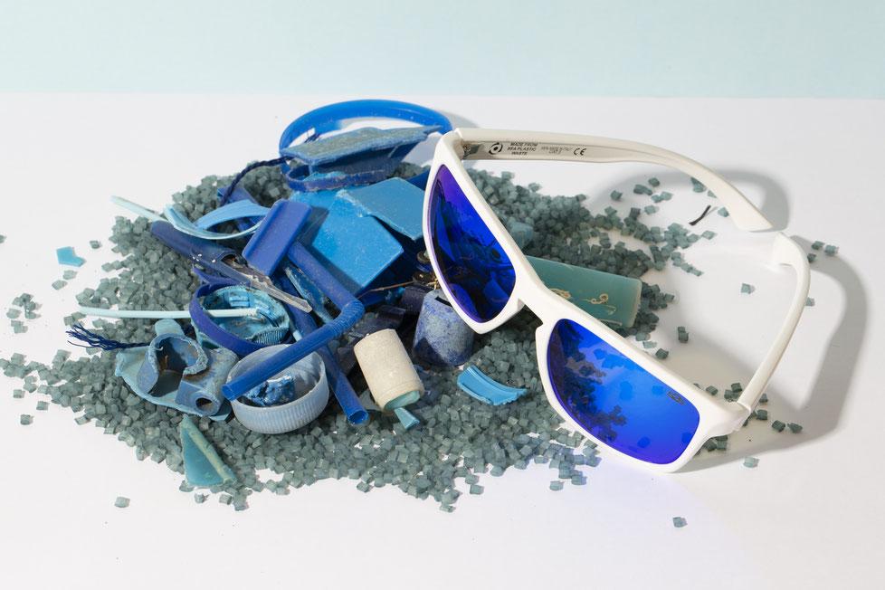 Aus dem Ozean: Brillen aus recyceltem Kunststoff