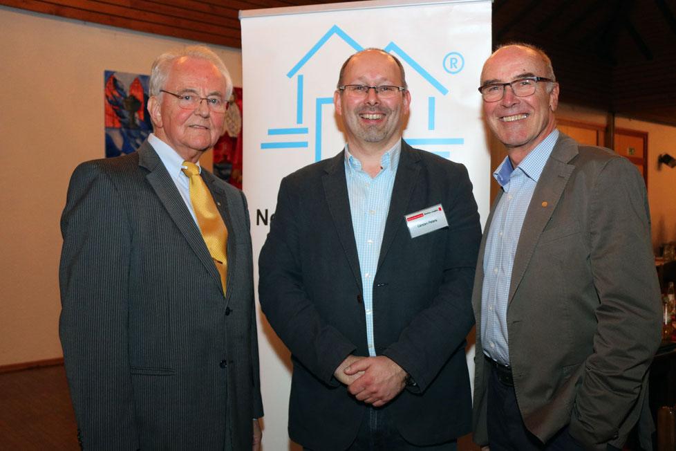 (v.l.) Gerd Schulte, Carsten Peters, Wilfried Gothe