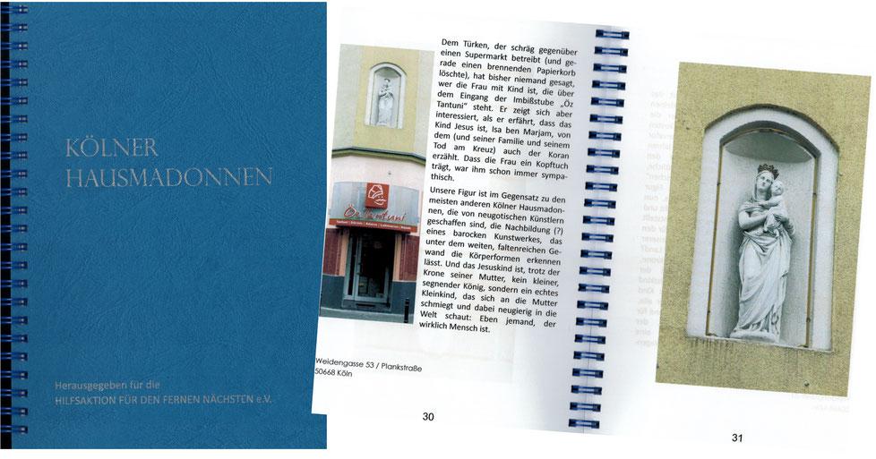 Kölner Hausmadonnen, R. Salditt, G. Tröger, T. Wenge, 1. Auflage 2014, 15 €