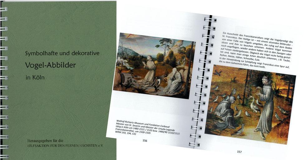 Symbolhafte und dekorative Vogel-Abbilder in Köln, G. Salditt, R. Salditt, T. Wenge,  1. Auflage 2016, 15 €