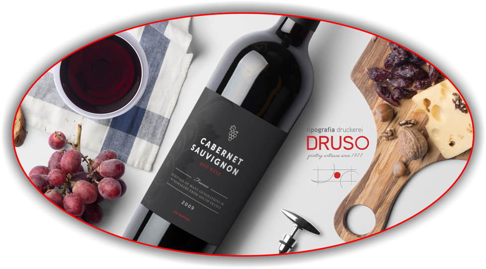 tipografia Druso Bolzano stampa digitale e offset_etichette vino