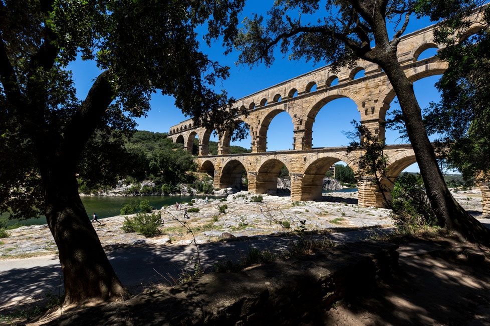 UNESCO Pont du Gard in France