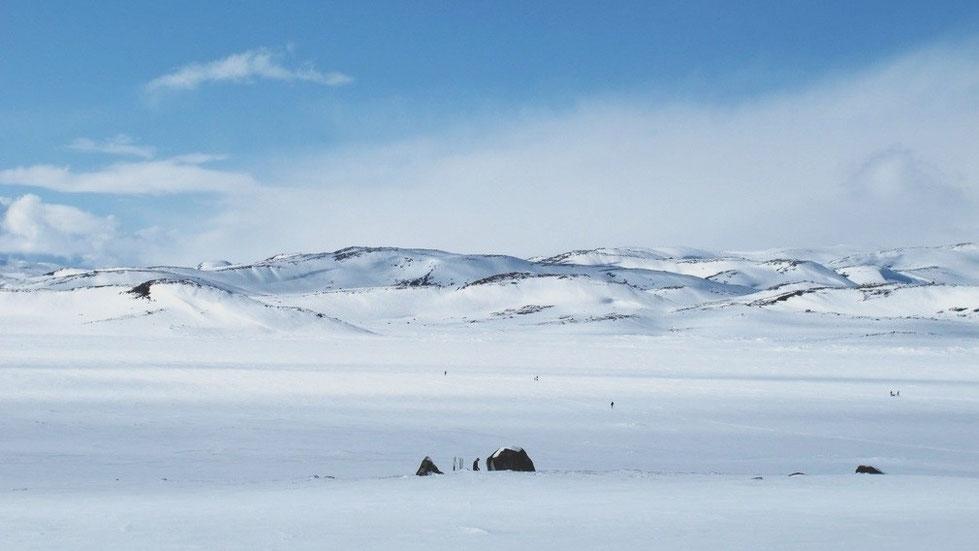 bigousteppes norvège route neige