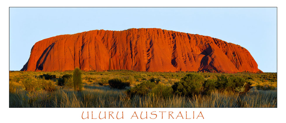 Uluru - Ayers Rock, Australien 1989