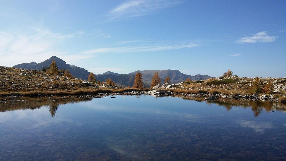 Un des petits lacs de Frémamorte