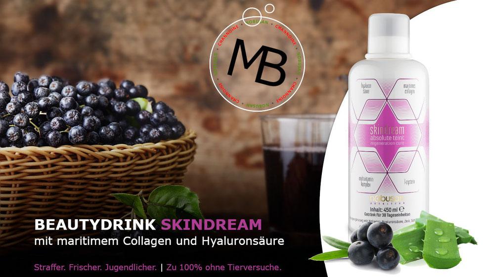 SkinDream - Anti-Aging-Drink für Bindegewebe, Fingernägel und Haarstruktur