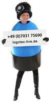 Filterflaschen Logotec F0001