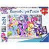 2x 24 st. puzzel PIRAAT  D 093 (ravensburger)