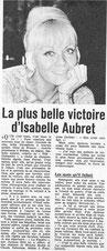 Isabelle Aubret Poly Cécile Aubry