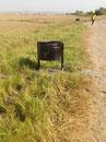 Umweltschutz, Abfallkübel in Taayaki