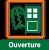 porte d'entrée, porte et fenêtres pour ouvertures de la maison
