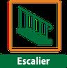 escalier pour la fabrication en atelier