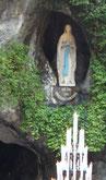 La Grotta di Lourdes in diretta...