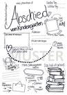 Portfoliovorlage Abschied Kindergarten
