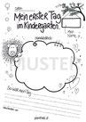 Portfoliovorlage Kindergartenstart