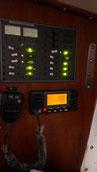 Le panneau et la radio fonctionnel