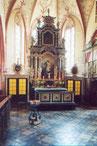 Altar in der St. Laurentius Kirche