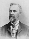 Foto des George Huntington, der als erster Erblichkeit, Symptome und Verlauf der Huntington-Krankheit / Chorea Huntington beschrieb