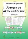 Aktiv Passiv Deutsch, Lernmaterial Aktiv Passiv, Förderschule Aktiv Passiv