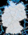 Karte zur Auftreten der Pfuhlschnepfe (Limosa lapponica) in Deutschland.