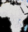 Karte zur Verbreitung des Eleonorenfalkes