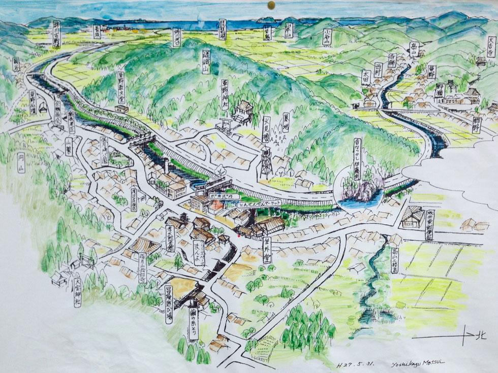 鍛冶屋町周辺の地図