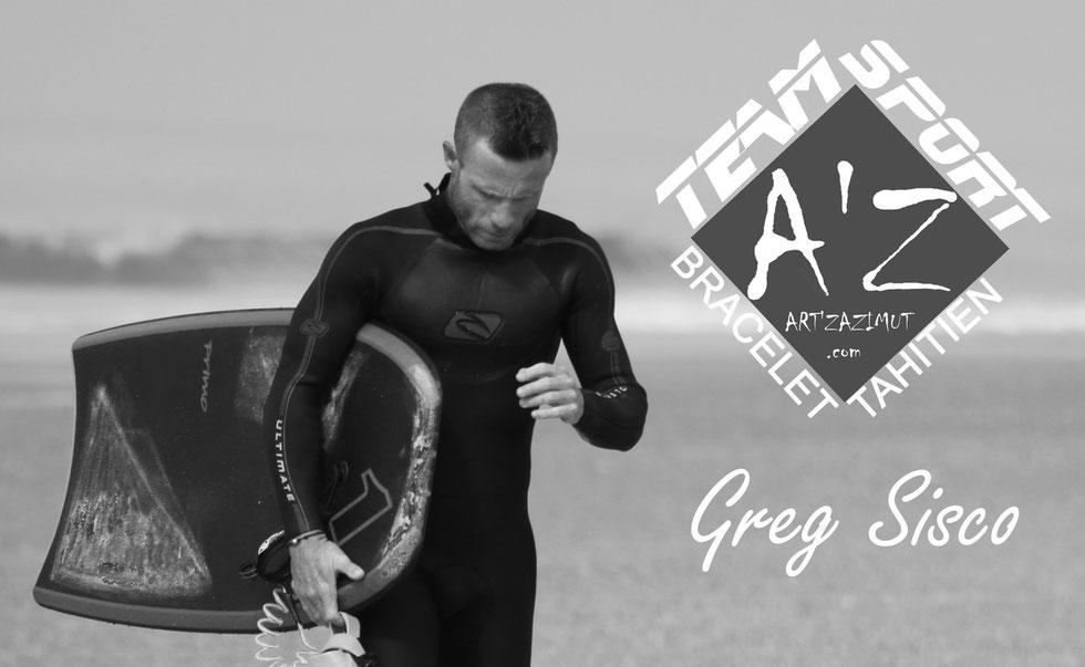 Greg Sisco membre du Team Sport AZ Bracelet Tahitien