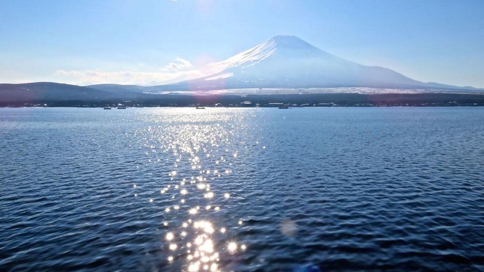 山中湖の富士 by坊守